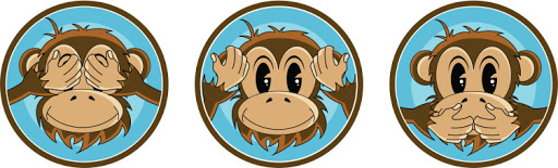 See Hear Speak No Evil Monkey