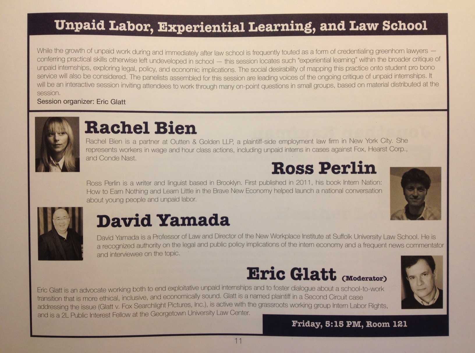 """Rebellious Lawyering"""" conference: Discussing origins and"""