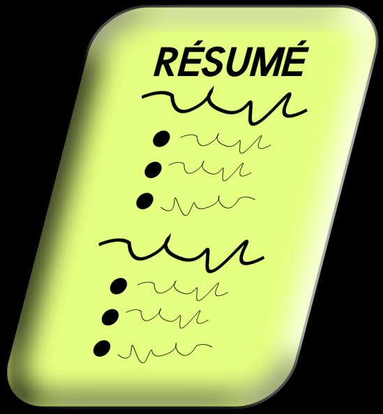 resume clip art