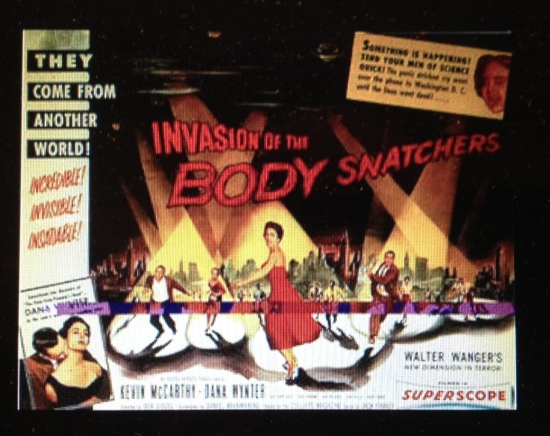 "(Photo of Wikipedia page for ""Invasion of the Body Snatchers"")"