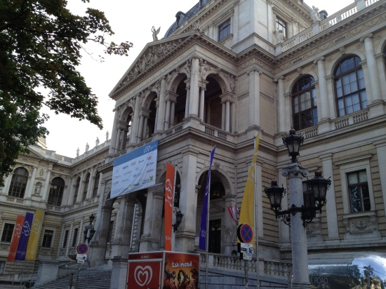 Main Building, University of Vienna (photo: DY, 2015)