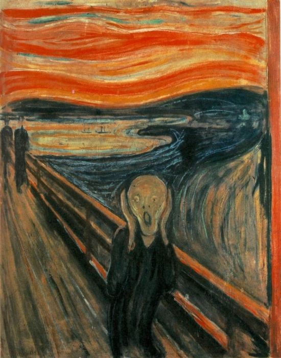 "Edvard Munch's ""The Scream"" (1893)"