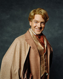 Kenneth Branagh as Prof. Gilderoy Lockhart from the Harry Potter series