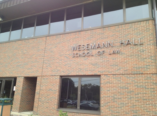 Wesemann Hall, home of the VU School of Law