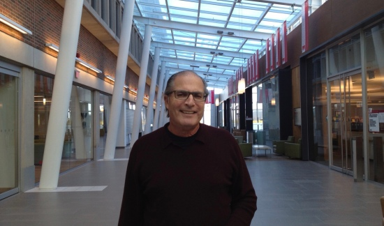 Prof. David Wexler, during a workshop break, at York University's Osgoode Hall Law School
