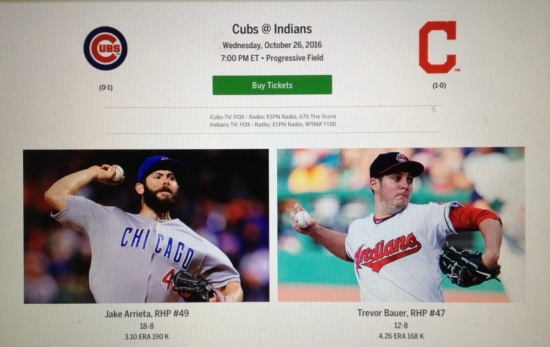 Screenshot from mlb.com