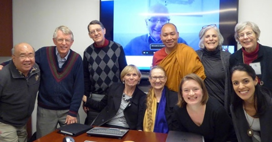 Group photo after our board meeting