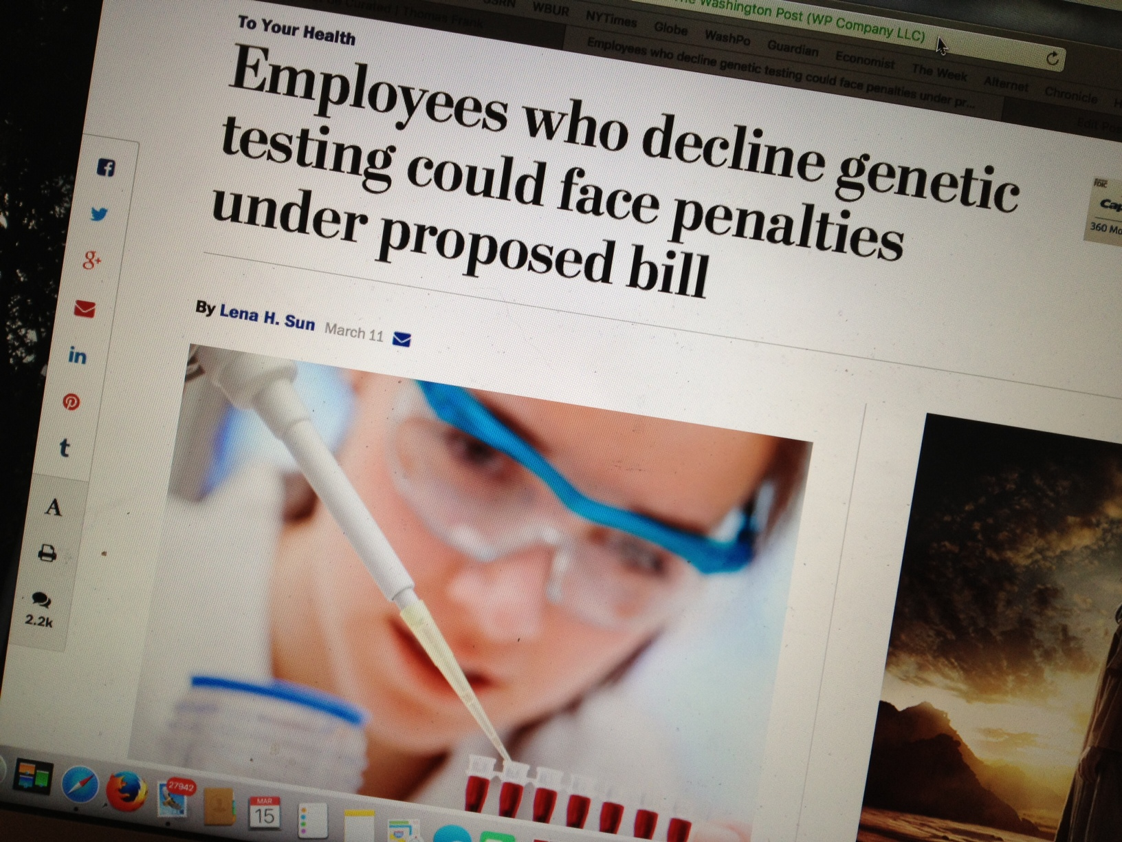 genetic testing in the workplace A blood pressure test house republicans are proposing legislation aimed at making it easier for companies to gather health and genetic data from workers and their families, including.