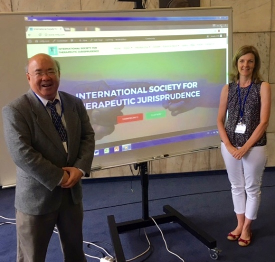 Launched in Prague: The International Society for Therapeutic Jurisprudence