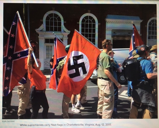 Can an employer fire a publicly-avowed white supremacist?