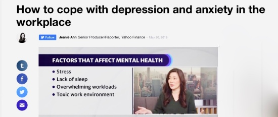 When the workplace causes depression and anxiety