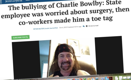 Man faced surgery, while bullying co-workers bet on his survival chances and gave him a toe tag