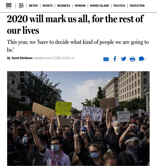Developing our 2020 vision